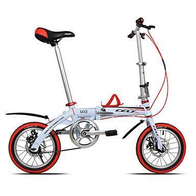 Folding Bikes Ciclismo 10 Speed 14 polegadas 44 milímetros Unissex / Masculino / Mulheres YINXING Freio a Disco Duplo ComumQuadro de Liga de 4946914 2016 por R$1.003,83