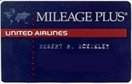 United Airlines   Mileage Plus Frequent Flyer Club