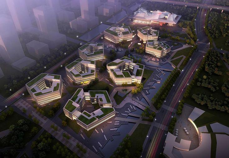 Nanjing Eco-Technology Island, Xin Wei Yi Technology Park