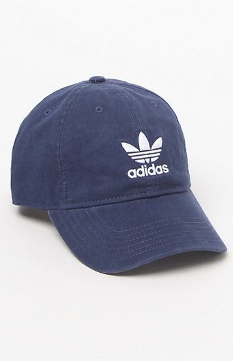 Style your casual looks with the Washed Canvas Cap from adidas. We love this cap's washed blue appearance with tonal, embroidered Trefoil logos at the front and back, a self-fabric backstrap closure and a six-panel construction.   Embroidered Trefoil logos at the front and back 6-panel design Self-fabric backstrap closure 100% cotton canvas
