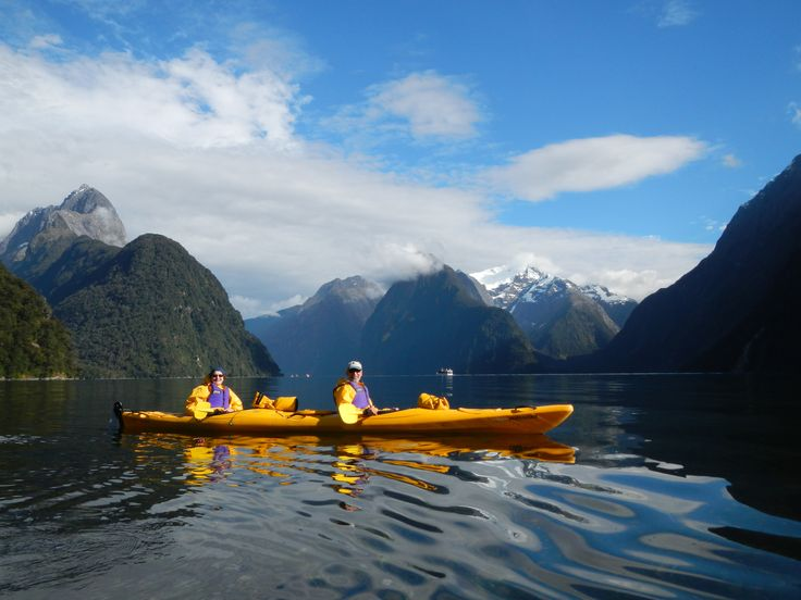 We reckon Kayaking is the best way to get out there and see Milford Sound in all its natural beauty.