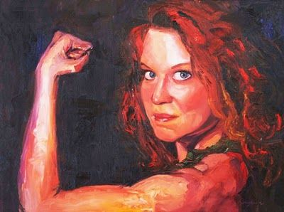 wonders never cease: Strong, Beautiful Women and the Art of Jamie Caplinger