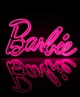 Let me get this in the retro font, and it would complete my Barbie room!