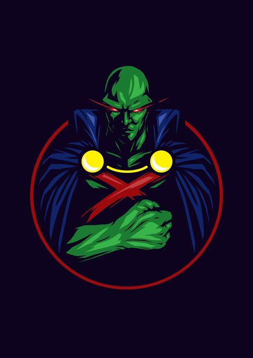 DC Superhero Series: Martian Manhunter by Steven Toang Wei Shang