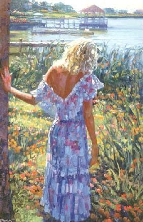 Painted by  HOWARD BEHRENS