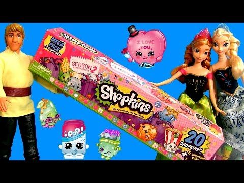 20 Shopkins Mega Pack in Tube ❤NEW❤ 2015 with Disney Frozen Kristoff Elsa & Princess Anna - http://www.princeoftoys.visiblehorizon.org/20-shopkins-mega-pack-in-tube-%e2%9d%a4new%e2%9d%a4-2015-with-disney-frozen-kristoff-elsa-princess-anna/