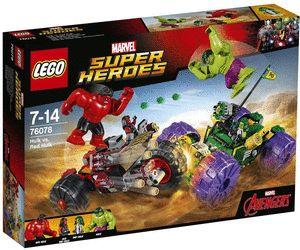 LEGO Marvel Super Heroes - Hulk vs. Red Hulk (76078) au meilleur prix sur idealo.fr