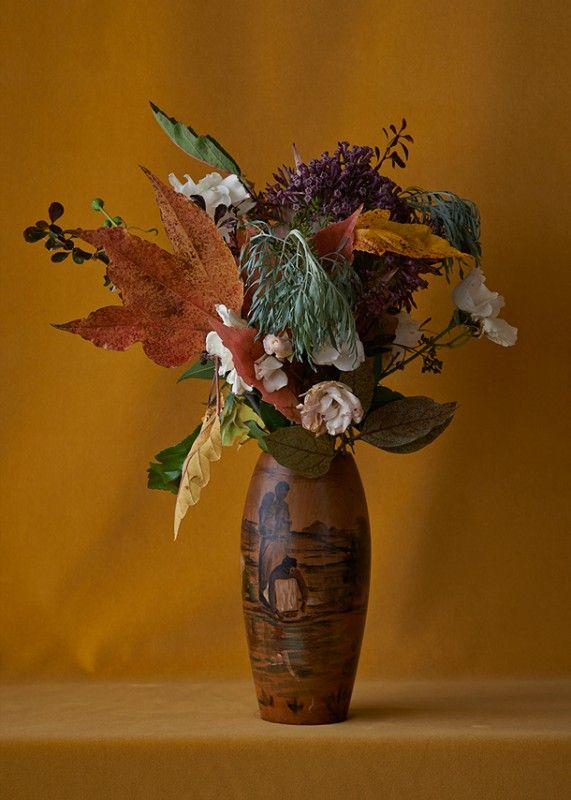 """""""Gold Arrangement"""" by Billie Culy  // New Zealand // Prints available online @ Homebase Collections"""