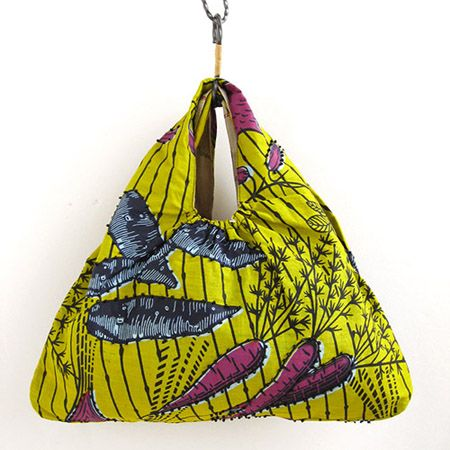 various shop ヴァリアスショップ アフリカンプリントのプチバッグ - アジアン衣料・アジアン雑貨のRisi e bisi(リジェビジ)