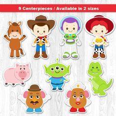 Centro de mesa de Toy Story Toy Story centro de mesa por KidzParty                                                                                                                                                      Más