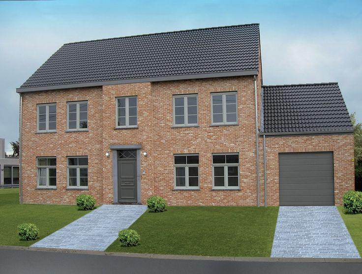 Familie Torisaen bouwde samen met Woningen Blavier hun droomhuis in Meise. Het resultaat? Deze prachtige woonst!