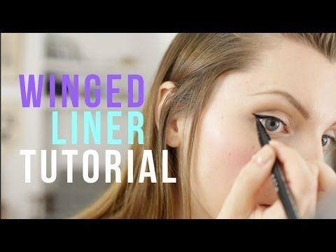 Easy Winged Liner Tutorial | essiebutton (+playlist)
