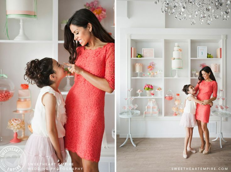 Mother & daughter - Elle Daftarian, Petite & Sweet Bakery, Toronto > Sweetheart Empire » Portrait and Special Event Photographer