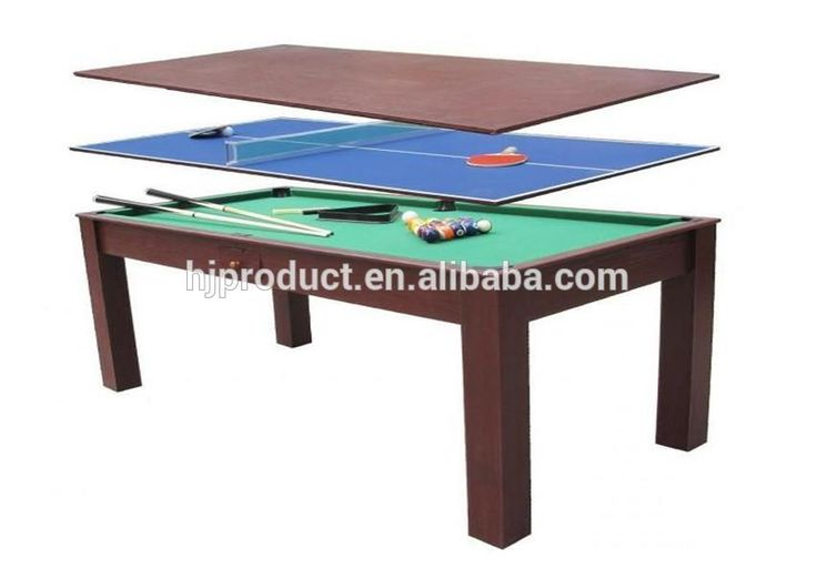3 In 1 Multi Game Table Pool,Ping Pong And Dining Table , Find Complete