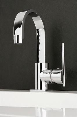 les robinets de la salle de bain