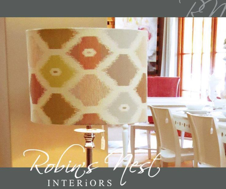 It's amazing the statement a simple yet elegant lampshade can make in a room. Come down to #RobinsNestInteriors and have a look at our exquisite decor pieces. #interiordesign #decor