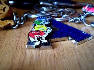 M's key chain