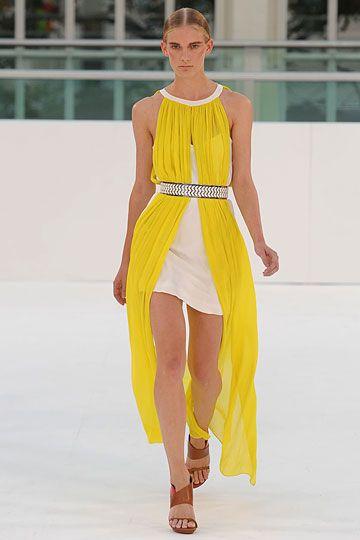 Sass and Bide SS12: Canary Yellow, Bide Spring, Grecian Dresses Diy, Color, Runway, Diy Grecian Dresses, Sass And Bide, Spring 2012, 2012 Rtw