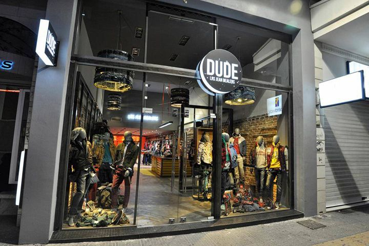 DUDE jeans store by Moras Antonios & Karkatselas Nikos, Larissa – Greece