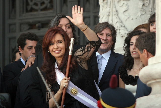 one of the most powerful women in the world- President of Argentina Cristina Fernandez de Kirchner