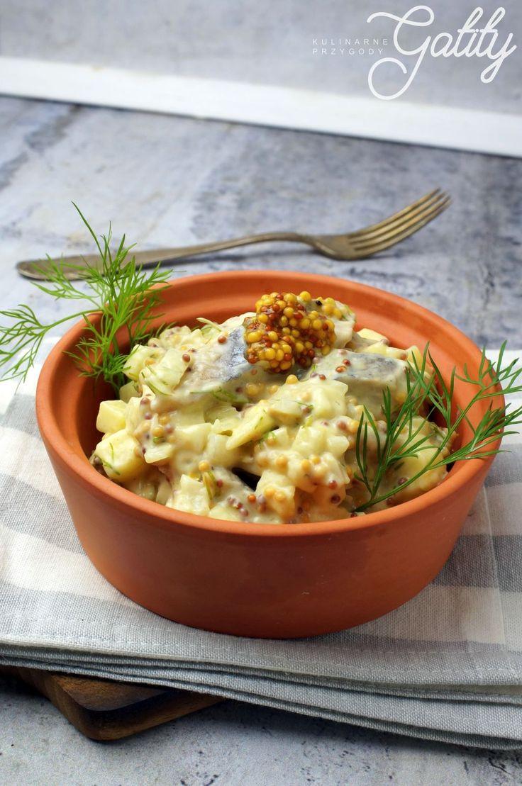 Kulinarne przygody Gatity - przepisy pełne smaku: Śledzie w sosie musztardowym