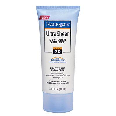 Black is BEAUTIFUL! #ProtectYourSkin Neutrogena Ultra Sheer Dry-Touch Sunblock (SPF 70)