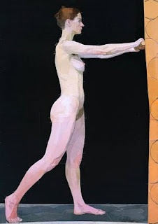 Euan Uglow nude Bet you can't guess the model!