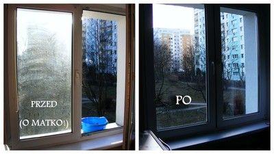 Jak tanio umyć okna?