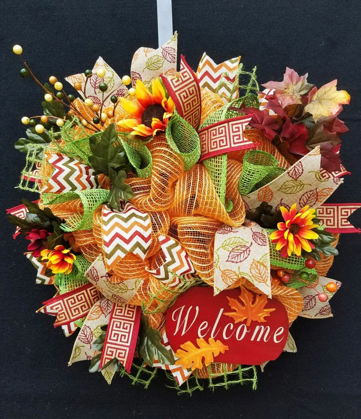A personal favorite from my Etsy shop https://www.etsy.com/listing/472540865/deco-mesh-wreath-country-mesh-wreath