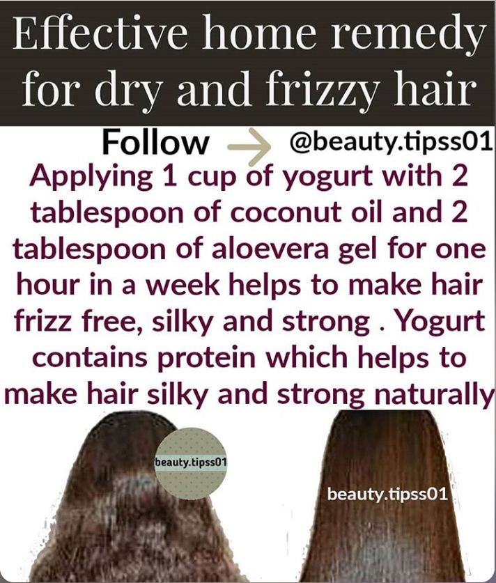 Turn Your Dry And Frizzy Hair To Smooth And Normal Hair With These 7 Home Remedies Home Remedies For Hair Diy Hair Conditioner Hair Remedies