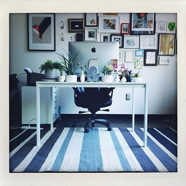 Great Office: Featuring West Elm's Gradated Stripe