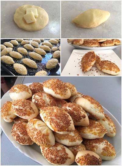 Pastane Usulü Kaşarlı Tuzlu Kurabiye Tarifi