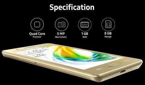 Harga Samsung Z2 dan Spesifikasi