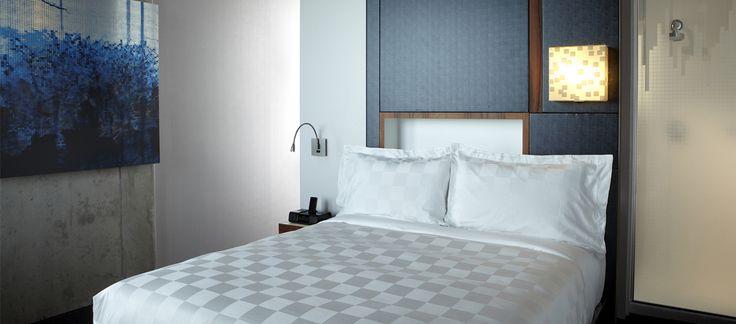 LEMAYMICHAUD | ALT | Halifax | Architecture | Design | Hospitality | Hotel | Room | Art | Bed | Bedding | Chair | Concrete