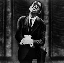 Al Jolson - in blackface, before political correctness and racial & ethnic sensitivities disallowed such performances.