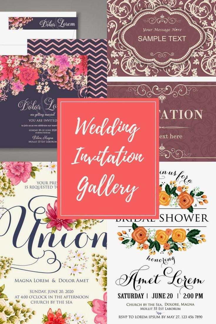 30 Full Customized, Modern And Budget Friendly Wedding Invitation ...
