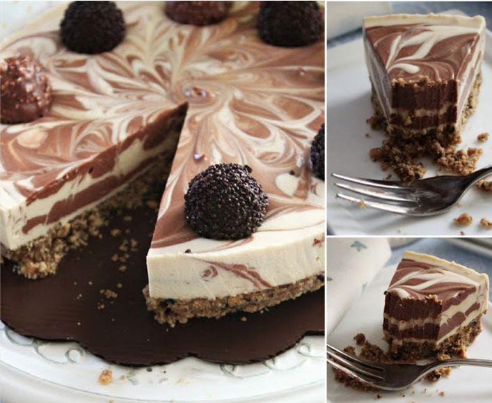 No Bake Baileys Cheesecake