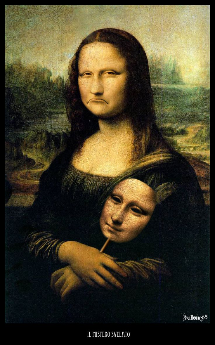 Bullone -- Mona Lisa Parodies #Joconde
