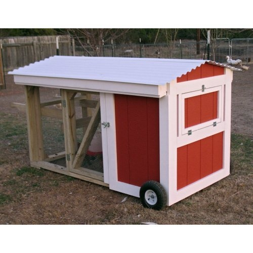 Chicken tractor kits woodworking projects plans for Cheap chicken tractor