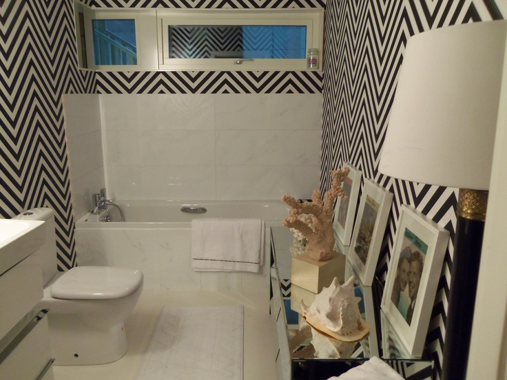 Ideal Home show bathroom #monochrome