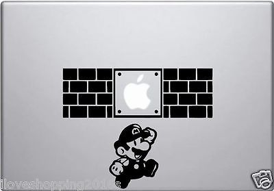 Video Game Vinyl Decal Stick for Apple MacBook Pro & Air  11 12 1315 inch