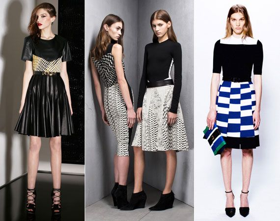 Three is a Trend Pre-Fall 2013: The Midi Finds Its Edge