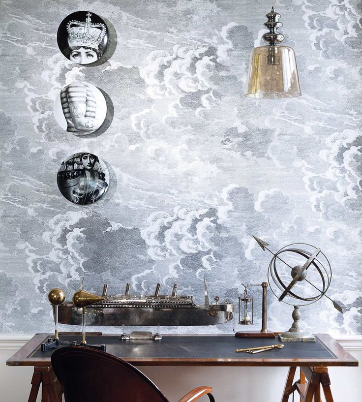 Design Classics | Nautical | Nuvolette Wallpaper by Cole & Son | Jane Clayton