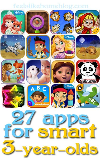 Great apps for girls ages 3-4! Some educational apps, and some are just for fun. #50giftguides #appsforkids