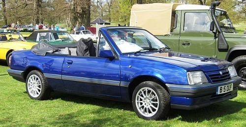 1986 Vauxhall Cavalier Cabriolet 1796cc