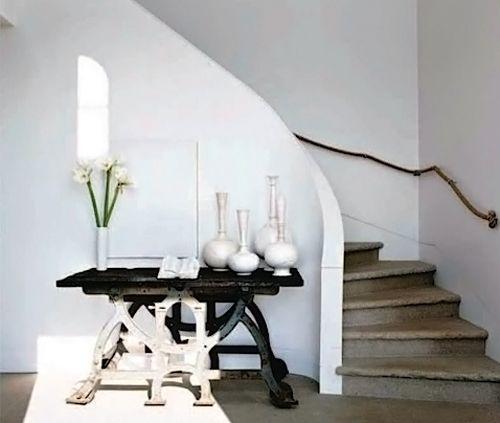 Foyer Entrance Questions : Elle decor entryway rustic white design pinterest