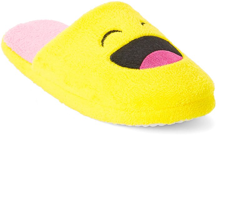 Laughing Smiley Face Slipper
