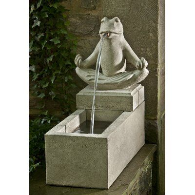 Zen Concrete Plinth Fountain Fountains Pinterest Fountain