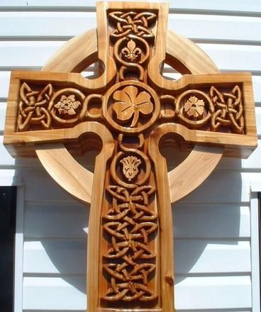 Celtic Cross built by Gregory..so beautiful, check out the intricate details!