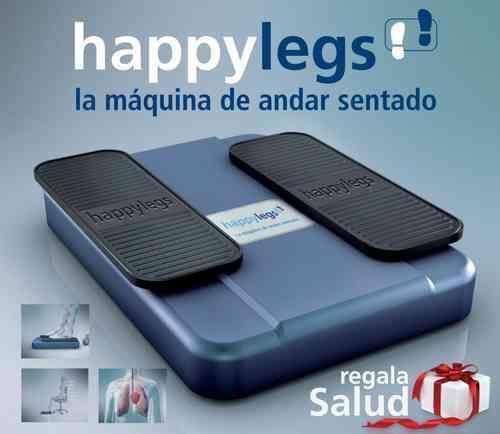 Máquina de andar sentado HAPPYLEGS   Ejercita tus piernas y tu corazón